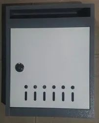 MS Powder Coated Letter Box With Lock