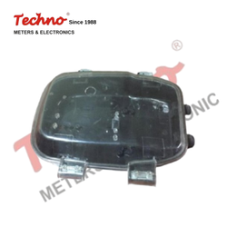 TECHNO Plastic Transparent Pilfer Proof Meter Box