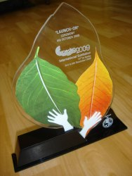 Business Acrylic Trophy