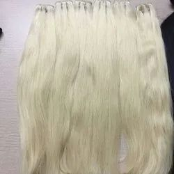White Hair Indian Human Hair For Women And Girl Cheveux Meche
