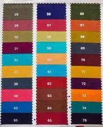 Cambric Cotton Fabric, Plain/Solids, Multicolour