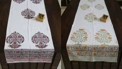 Export Cotton Printed Table Runner Mat