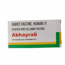 Rabies Vaccine Human IP Injection, 1X1Ml, 2-8 Degree Celsius