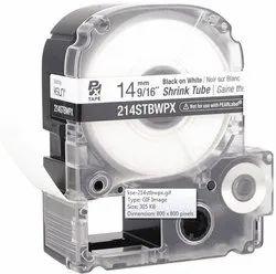 Epson LK-4WBA7 12mm Heat Shrink Compatible Tube