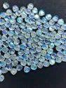 100% Natural Blue Moonstone 9MM Heart Shape Cabochon, Blue Sheen Moonstone Cabochon,