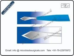 2.2 Mm Double Bevel Ophthalmic Micro Surgical Knife