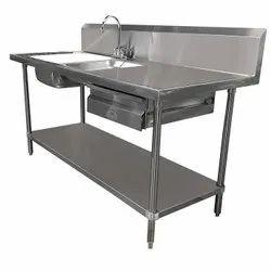 Commercial Sink Dish Wash Unit