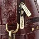 Hammonds Flycatcher Original Bombay Brown Leather 14 inch Laptop Messenger Bag