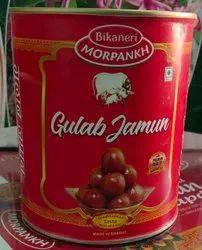 Khoya Gulab Jamun, Packaging Size: 1 Kg Tin,17 Kg Tin, Packaging Type: Tin Container