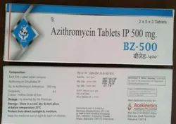 BZ-500 Azithromycin 500mg Tablets