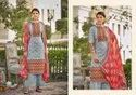 Melisa By Belliza Cotton Printed Dress Materials Wholesale Catalog