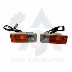 Front Bumper Indicator Lights Set Lh Rh For Suzuki Samurai Sj410 Sj413 Sj419 Sierra Santana