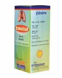 Ethicof Herbal Cough Syrup, 100 ml