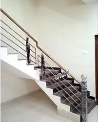 Rose Gold Stainless Steel Handrails