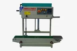 continuous band sealing machine with heavy duty