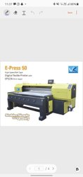 CMYK Textile Printing Machine