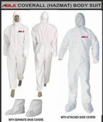 50 GSM Non-Woven Hazmat Coverall Body Suit