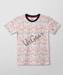 AKR Industries Cotton Waggling Colour Kids T-Shirt, Size: 7-9 Years