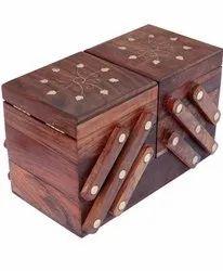Wooden Jewellery Box, Size: Medium