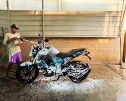 Two Wheeler Washing Service
