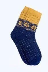 Ladies Printed Woolen Socks