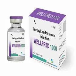 Wellpred 1000 Injection ( Methylprednisolone)