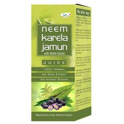 La Nutraceuticals Neem Karela Jamun Juice