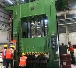 1500 Ton Hydraulic Press Commissioning Work.