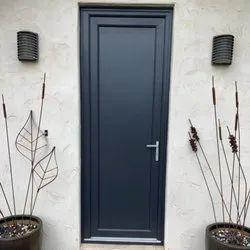 Modern White UPVC Swing Doors, For Home