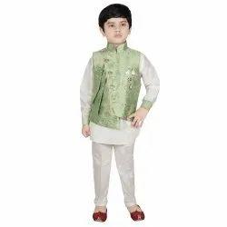 Sg Yuvraj Multicolor Kids Designer Kurta Pajama With Jacket, Size: 2-16 Years