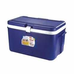 Insulated Chiller Ice Box, 50 Liter, Blue