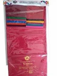 Simran Dyed Rubia Cotton Fabric, Plain/Solids