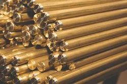 Round Brass Extrusion Rods, For Hardware Fitting, Material Grade: G-1 & G-2