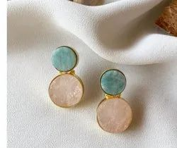 Party Gold Plated Imitation Earrings
