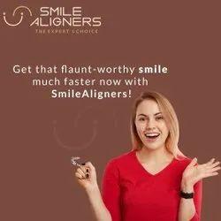 White Oral Smile Aligners