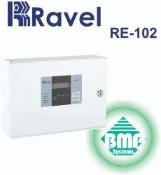 Ravel 2 Zone Fire Alarm Panel RE-102