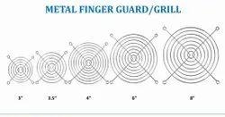 SIBASS Silver Metal Finger Guard, Size: 4