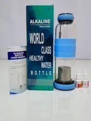 Alkaline Glass Water Bottle