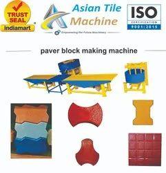 Zig Zag Concrete Paver Block Making Machine