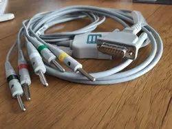 HB-EC-01_5B 5 Lead ECG Cable