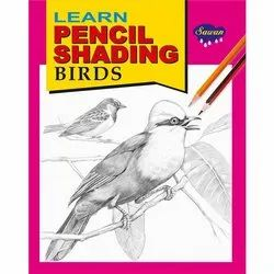 Learn Pencil Shading Birds 8 Different Books