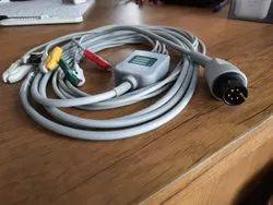 HB-EC-07_5C 5 Lead ECG Cable