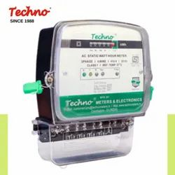 Techno Three 3P Direct Connection Counter/LCD Meters, Model Name/Number: Tmcb 006, 3*240
