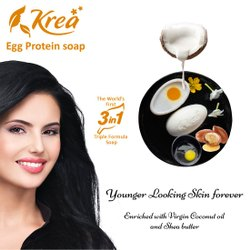 Krea Egg Protein 3 In1 Soap