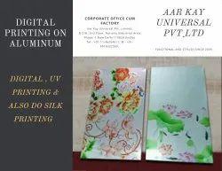 Black Smooth Digital / Screen Aluminum Printing Services, In Delhi