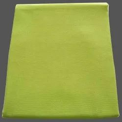 Cotton Cambric Fabric, Plain, Green