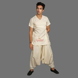 Handloom Cotton Yogi Kurta Alladin Salwar