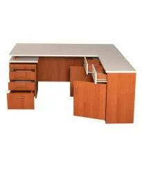 Modular Table With Storage And Drawers  (VJ-2055)