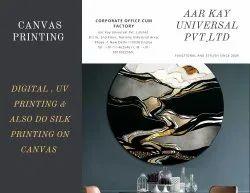 4 Colour Digital Canvas Printing Services, Location: Delhi, Size: Std