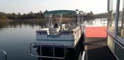 Aluminum Triple Pontoon Boat 15 Seater Without OBM